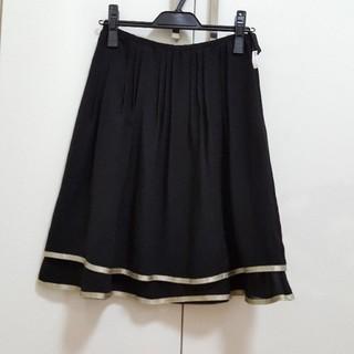 エフデ(ef-de)のクリーニング済み☆美品 エフデ ティアード フレアースカート M(ひざ丈スカート)