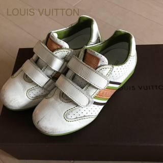 ルイヴィトン(LOUIS VUITTON)の☆LOUIS VUITTON ルイヴィトン キッズスニーカー ☆29(スニーカー)