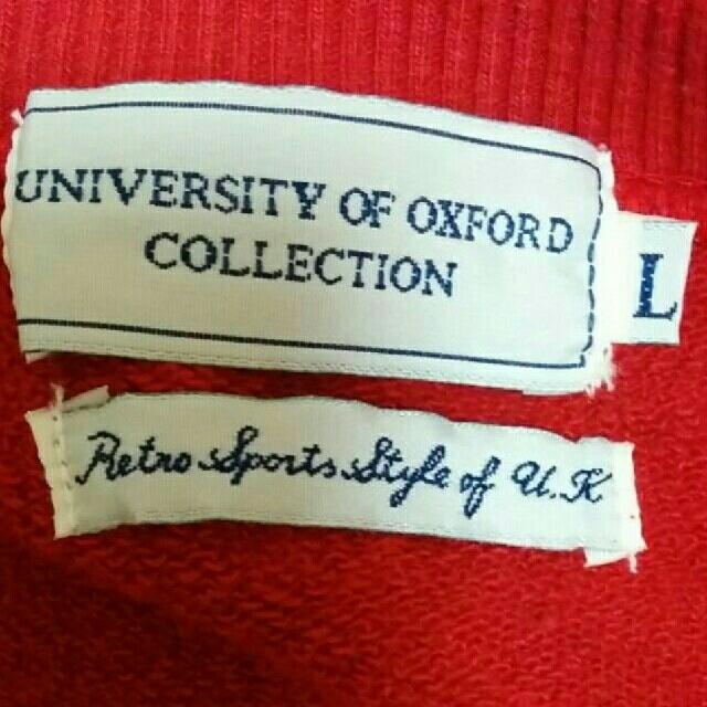 オックスフォード大学トレーナー メンズのトップス(スウェット)の商品写真