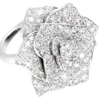 ピアジェ(PIAGET)のアフロマスター様専用 新品同様 ピアジェローズ ダイヤモンド リング (リング(指輪))