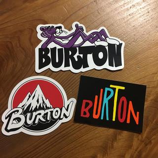 バートン(BURTON)のBURTON ステッカー(アクセサリー)