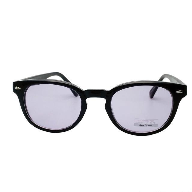パープルレンズのウェリントン5005☆ メンズのファッション小物(サングラス/メガネ)の商品写真