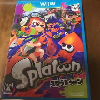 ウィーユー(Wii U)のWIiU スプラトゥーン(家庭用ゲームソフト)