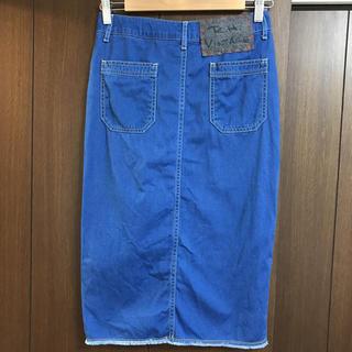 ロンハーマン(Ron Herman)のロンハーマン ヴィンテージデニムタイトスカート (ひざ丈スカート)