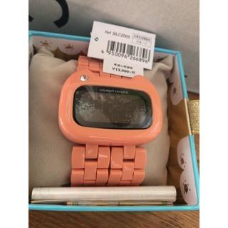 ツモリチサト(TSUMORI CHISATO)の【新品、箱、説明書付】ツモリチサト♡腕時計/デジタル/ピンク(腕時計)