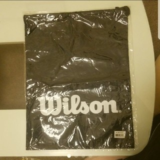 ウィルソン(wilson)のあみゆみ様。専用☆ウイルソン シューズ入れ(巾着袋)紺色(ポーチ)