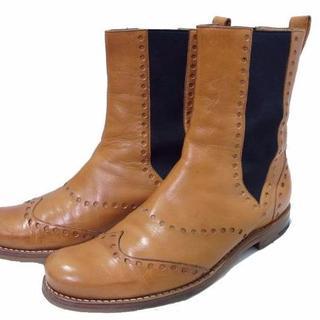 ジンターラ(Zintala)のジンターラ シルヴァノラッタンジ TOTTORI サイドゴア ブーツ 39.5(ブーツ)