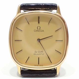 オメガ(OMEGA)のA208 OMEGA オメガ デビル 1365 プッシュリューズ ゴールド(腕時計(アナログ))