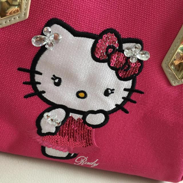 Rady(レディー)のRady  新品  送料込み  ドレスキティ  ピンク  S  トートバッグ レディースのバッグ(トートバッグ)の商品写真