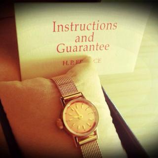 アッシュペーフランス(H.P.FRANCE)のH.P.FRANCE購入 腕時計(腕時計)