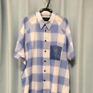 ミルクボーイ(MILKBOY)の送料込み ミルクボーイ 新作 シャツ ブルー チェック 美品(シャツ)