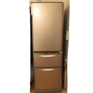ミツビシデンキ(三菱電機)のlovoryo様専用✨9/2締め切り✨三菱 冷蔵庫 370L(冷蔵庫)