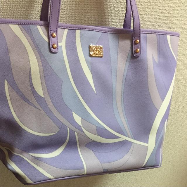Rady(レディー)のRady♡ 未使用マーブルトートバッグ レディースのバッグ(トートバッグ)の商品写真
