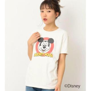 アナザーエディション(ANOTHER EDITION)のミッキーTシャツ新品タグ付き(Tシャツ(半袖/袖なし))