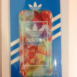 アディダス(adidas)のadidas アディダス ロゴ iPhone6(iPhoneケース)