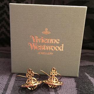 ヴィヴィアンウエストウッド(Vivienne Westwood)の【最終値下】Thin Lines 3D ORB Earrings(ピアス(両耳用))