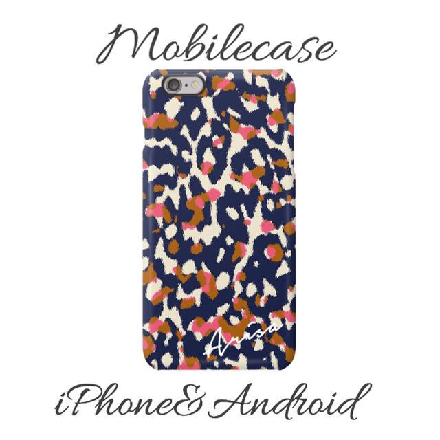 supreme iphonexs ケース シリコン | 名入れ可能♡ネイビーレオパード柄スマホケース♡iPhone以外も対応機種多数ありの通販 by welina mahalo|ラクマ
