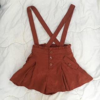 メリージェニー(merry jenny)のひも付スカートみえブラウンパンツ♡(ショートパンツ)