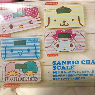 サンリオ(サンリオ)のサンリオ☆シナモンロールヘルスメーター☆非売品☆新品(体重計)