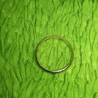 ピンキーリング アクアマリン 3月誕生石サファイアブルージルコンエメナルド(リング(指輪))