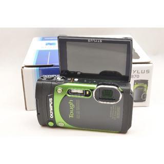 オリンパス(OLYMPUS)のぽちゃこ様専用★オリンパス TG-870 グリーン  6台セット(コンパクトデジタルカメラ)