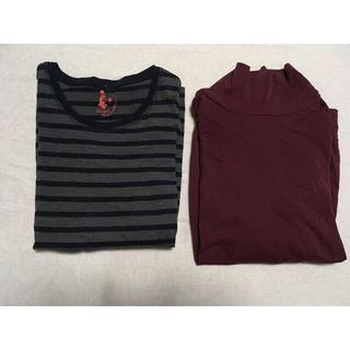 ジーユー(GU)のGU 長袖シャツ 2点セット【値下げ不可】(Tシャツ(長袖/七分))