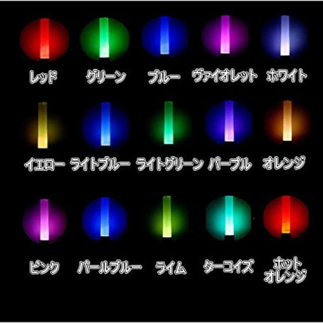 目黒蓮ペンライト色
