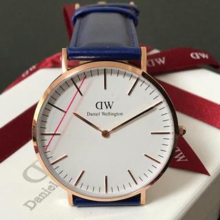 ダニエルウェリントン(Daniel Wellington)の大人気✨アメリカ限定アイテム❗️ダニエルウェリントン 青ベルト✨ユニセックス(腕時計(アナログ))