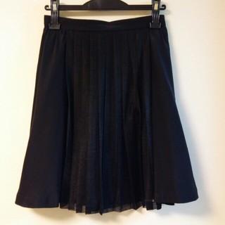 ルシェルブルー(LE CIEL BLEU)のルシェルブルー 黒 スカート(ひざ丈スカート)