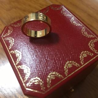 カルティエ(Cartier)のカルティエCartier Love リングK18イエローゴールド(リング(指輪))