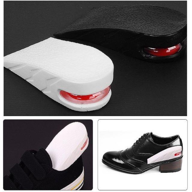 [白]3cmUP ハーフ型 シークレットインソール 中敷 上げ底 厚底 メンズの靴/シューズ(その他)の商品写真