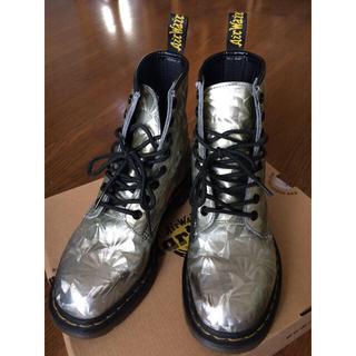 ドクターマーチン(Dr.Martens)のドクターマーチン ブーツ 8ホール シルバー 画像更新(ブーツ)