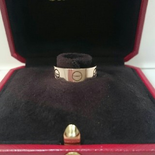 カルティエ(Cartier)のココア88様専用美品カルティエラブリングWG サイズ46(リング(指輪))