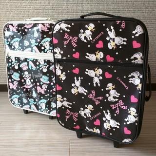 スイマー(SWIMMER)のスイマー☆プードル柄キャリー☆セット(スーツケース/キャリーバッグ)