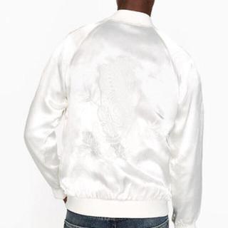 ザラ(ZARA)の新品 ZARA MAN 刺繍 スカジャン ジャケット S MA1 ブルゾン(スカジャン)