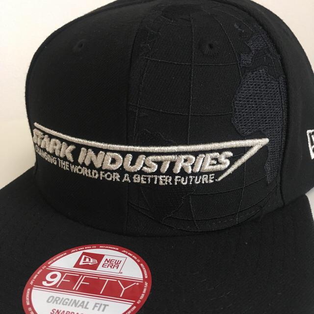NEW ERA(ニューエラー)のマーベル アイアンマン スタークインダストリーズ ニューエラ 9Fifty メンズの帽子(キャップ)の商品写真