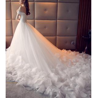 ドレス 結婚式 ウェディングドレス 白(ウェディングドレス)