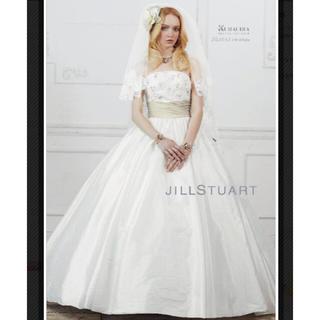 ジルスチュアート(JILLSTUART)のジルスチュアートウェディングドレス5号☆7-9号の方シルク(ウェディングドレス)