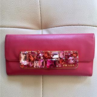 プラダ(PRADA)のプラダ PRADA ビジュー 財布(財布)