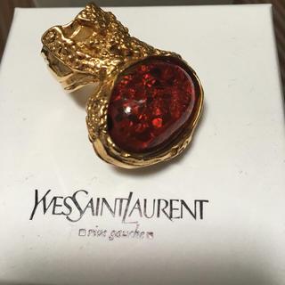 サンローラン(Saint Laurent)の【薔薇ちゃん様お取り置き中】イヴ・サンローラン アーティーリング(リング(指輪))