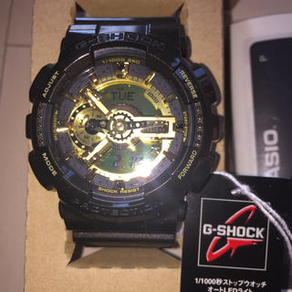 GA-110BR-5ADR G-SHOCK Gショック 新品 未使用 ゴールド(腕時計(デジタル))