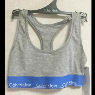 カルバンクライン(Calvin Klein)の新品☆Calvin Klein 下着☆スポーツブラ レディース Sサイズ(ブラ)