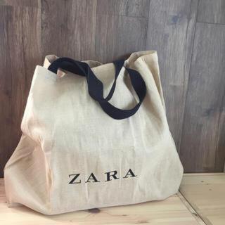 ザラ(ZARA)のZARA ジュートバッグ(エコバッグ)