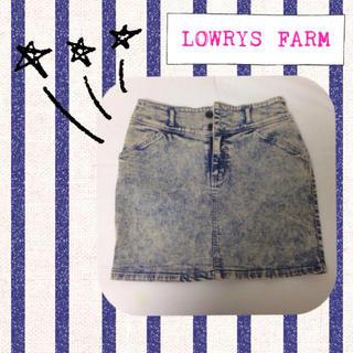 ローリーズファーム(LOWRYS FARM)のLOWRYS FARM*タイトスカート(ミニスカート)