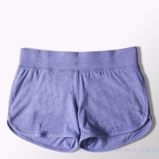 アディダス(adidas)のアディダス エアロニットショーツ 紫M 定価4212円 S12124(その他)