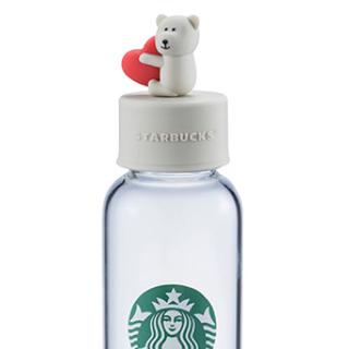 スターバックスコーヒー(Starbucks Coffee)の【新品】スタバ台湾限定 ベアリスタグラスボトル425ml(グラス/カップ)