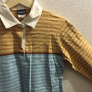 パタゴニア(patagonia)のラガーシャツ  古着  Patagonia(Tシャツ(長袖/七分))