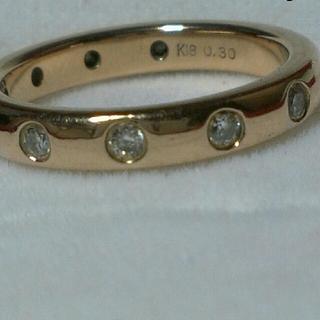 K18 フルエタニティ ダイヤリング ピンクゴールド (リング(指輪))