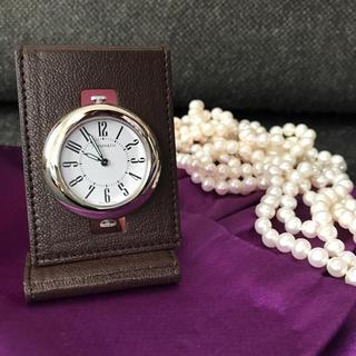 ティファニー(Tiffany & Co.)の【未使用】ティファニー トラベルクロック(旅行用品)