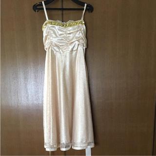 パウダーシュガー(POWDER SUGAR)のドレス☆結婚式など2次会に(ミディアムドレス)